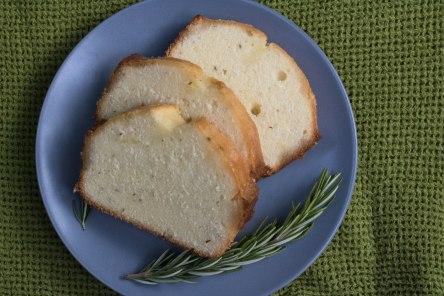 Lemon Rosemary Poundcake