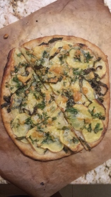 Potato and Herb Pizza